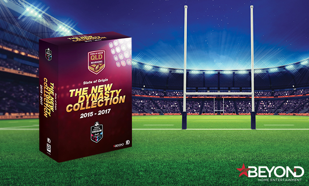 State of Origin: 2015-2017 The New Queensland Dynasty Box Set