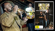 American Pickers: Tunnels and Treasures