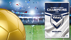A-League Champions 2018. Melbourne Victory are champions once again!
