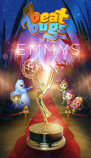 Beat Bugs has been nominated in 2 Daytime Emmy categories